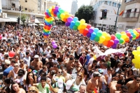 Gay Pride Parade, Tel Aviv June 2100, Credit Ira Zlicha.jpg