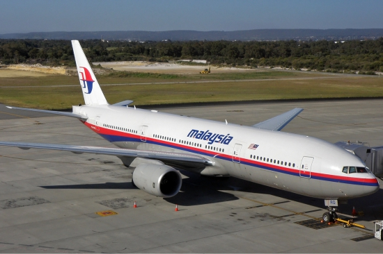 A Malaysia Airlines Boeing 777-200-as gépe (Forrás: Wikipedia)