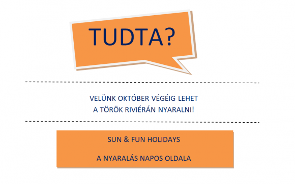 Forrás: Facebook / Sun & Fun Holidays
