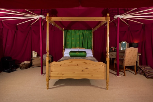 Forrás: Knight's Glamping at Leeds Castle