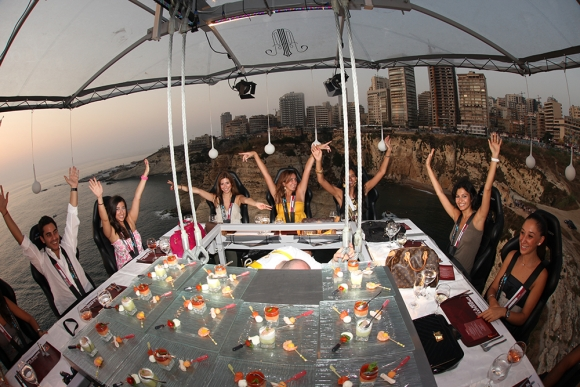 Dinner in the Sky, Beirut