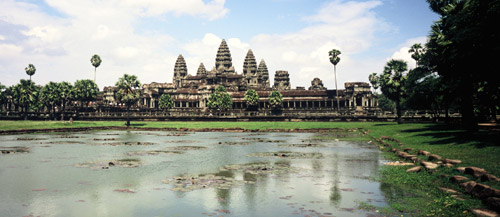 Ankor Wat Forrás: tourismcambodia.com